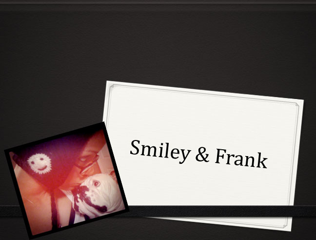 Frank and Smiley In The City