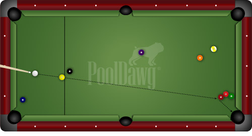 Two Way Shot For 9-Ball