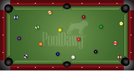 7-Foot Bar Pool Table