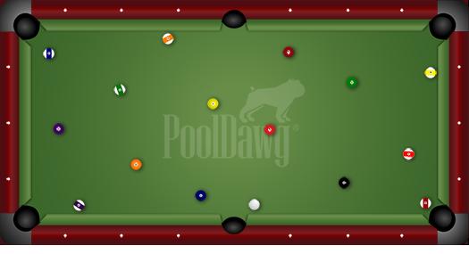 8-Foot Pool Table