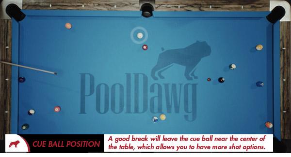 8-Ball Cue Ball Position