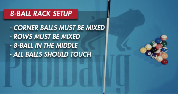 8-Ball Rack Rules