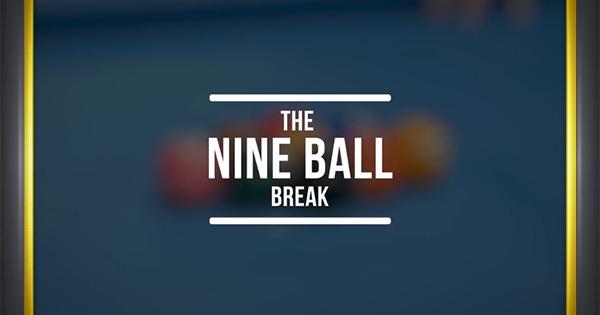 The Nine Ball Break Title Screen