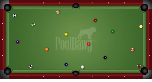 9-Foot Pool Table