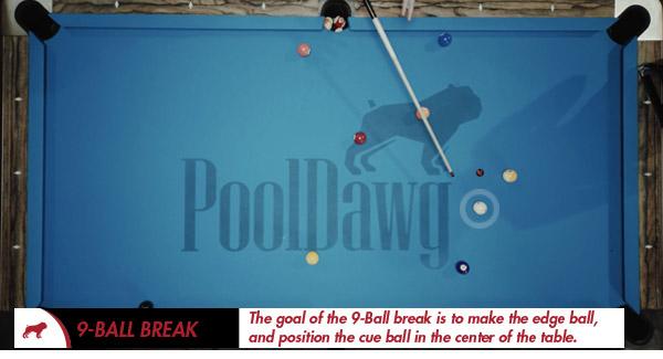 9-Ball Cue Ball Position