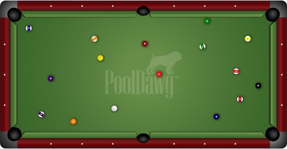 Nine Foot Pool Tables Are What The Pros Play On. The Larger Size, And Often  Tighter Pockets, Results In Longer Shots That Require More Accuracy And  Speed ...