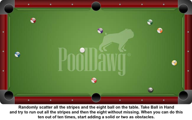 Run Out Practice Pool Cues And Billiards Supplies At PoolDawgcom - Pool table help