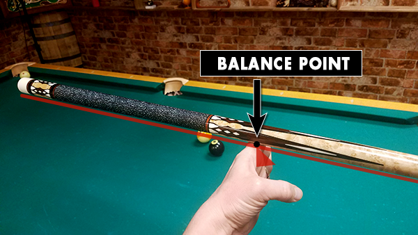 Balance Weight of Pool Cue