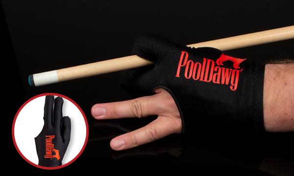 Waering Billiard Glove to Avoid Sweat