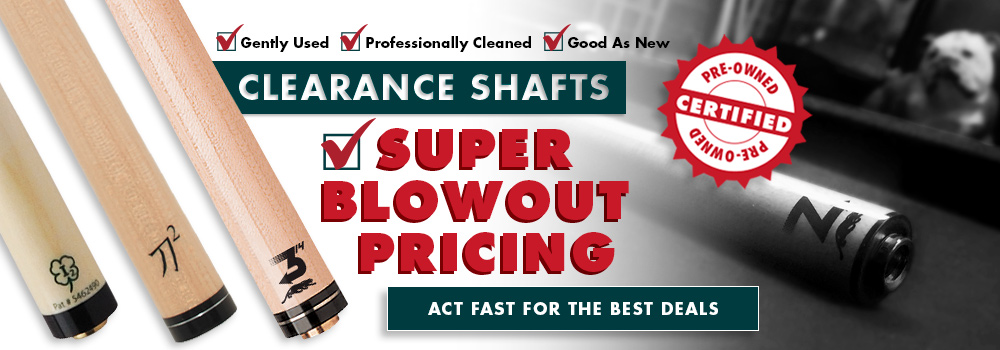Clearance Shafts
