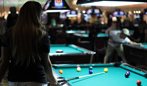 Competition in a billiard tournament