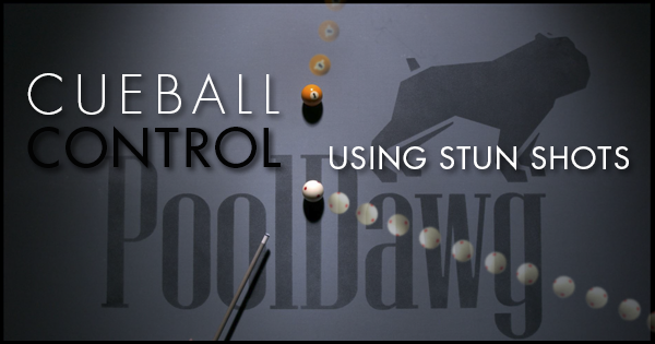 Stun Shots Learning To Control The Cue Ball Pool Cues And