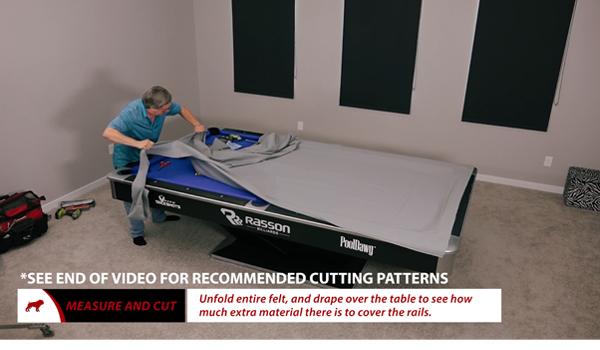 Cutting Cloth for Rails