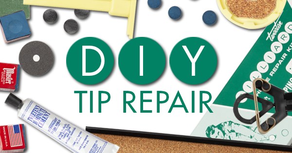 Do it yourself pool cue tip repair