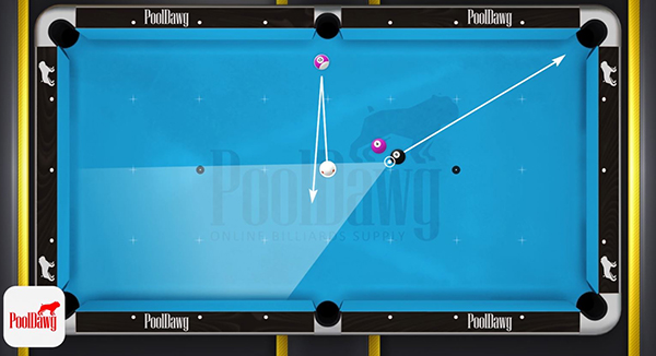 Although Florian has an easy opportunity to make the 12, but controlling the cue ball and keeping it in the zone would be difficult.