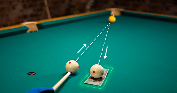 How To Draw The Cueball Farther And With Precision | Pool
