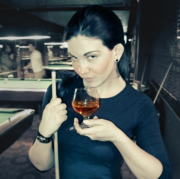 Emily With Drink