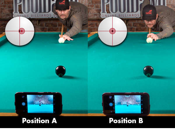 Straight-In Shot Adjustment Drill