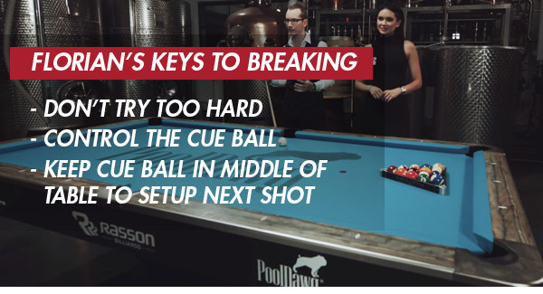 How to Rack and Break in Pool | Pool Cues and Billiards