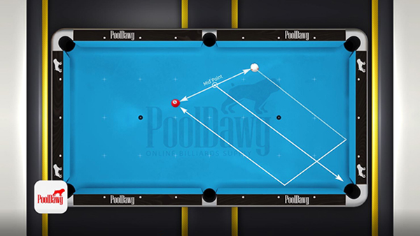 Florian uses parallel shift system to kick when the balls are in irregular positions