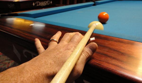 cue ball billiard bridge