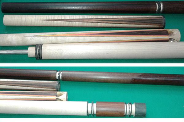 Pool cue pieces