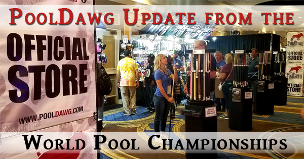 PoolDawg UPDATE from the World Pool Championships