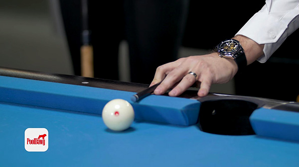 A rail bridge allows your cue to stay as flat as possible