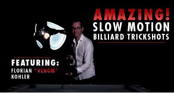 Slow Motion Billiard Trickshots