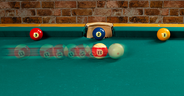 How to Stop the Cue Ball