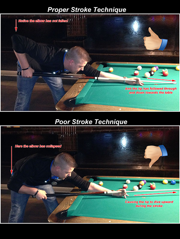 Stroke Drills 101 Pool Cues And Billiards Supplies At