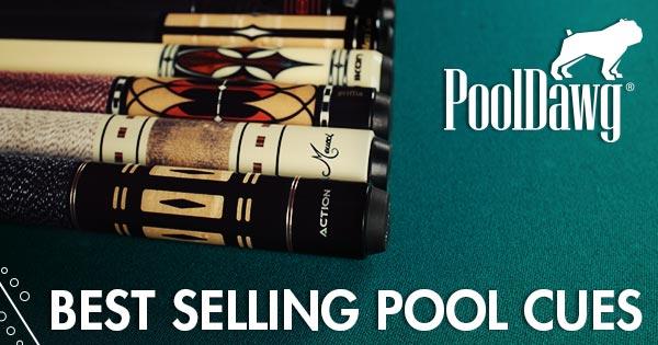 Top 15 Pool Cues Header Image