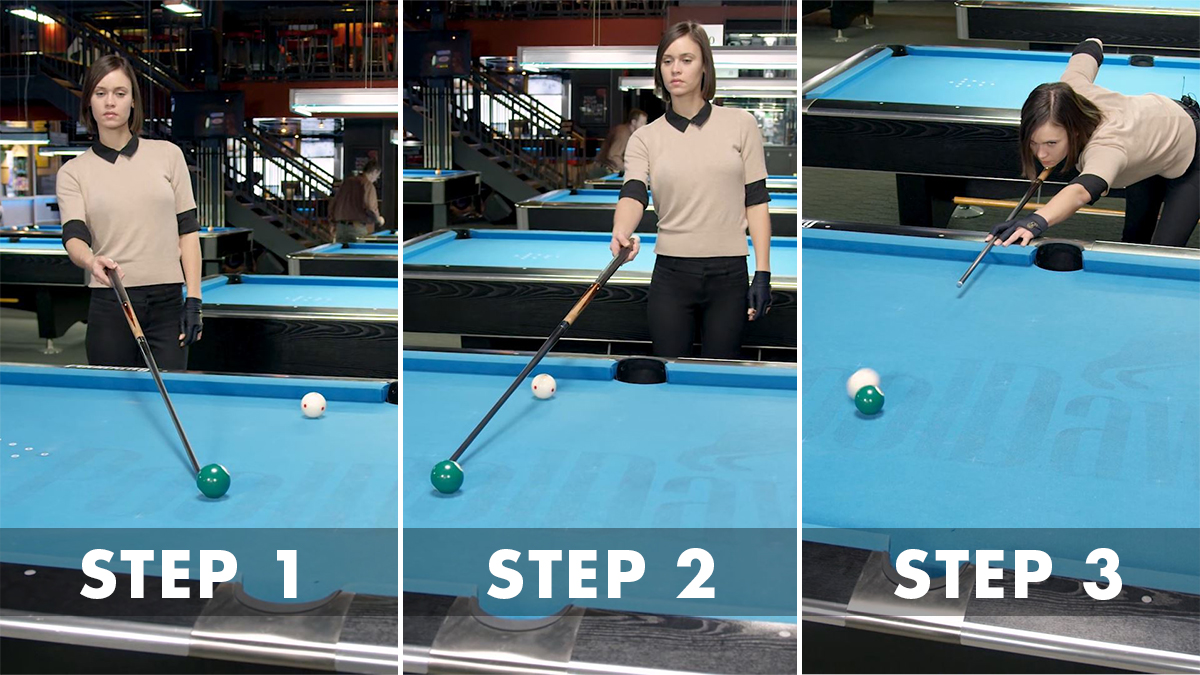 Valerie walks through the three steps in the Parallel aiming system.