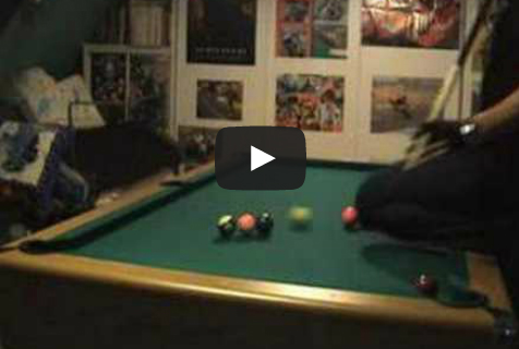 Pool Video of the Week - Venom Masse Shots