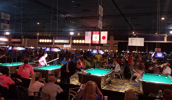 APA World Pool Championships tournament room