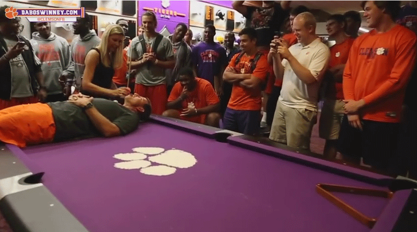 Clemson Football vs Loree Jon Jones FTW!