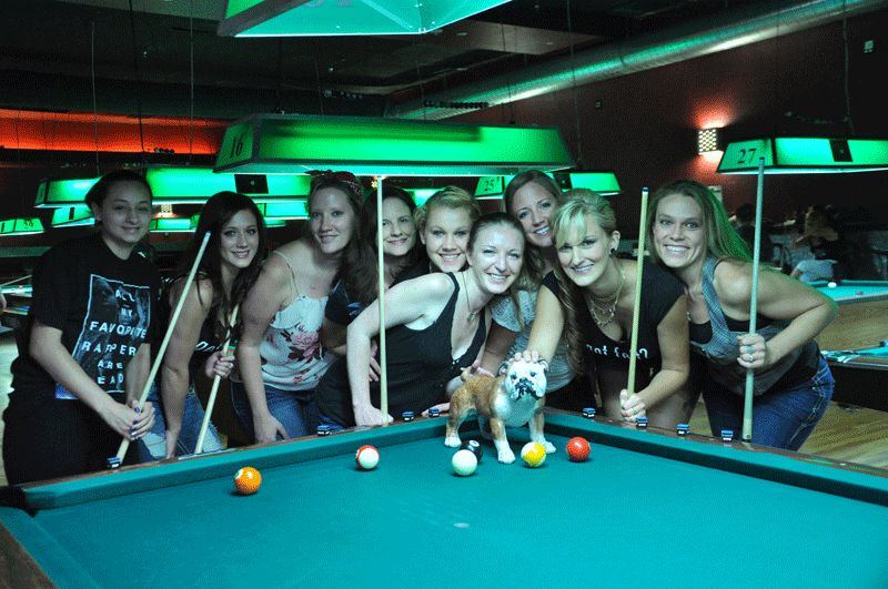 Felt Pool Hall + Local PoolDawgians = Pure Awesomeness!!