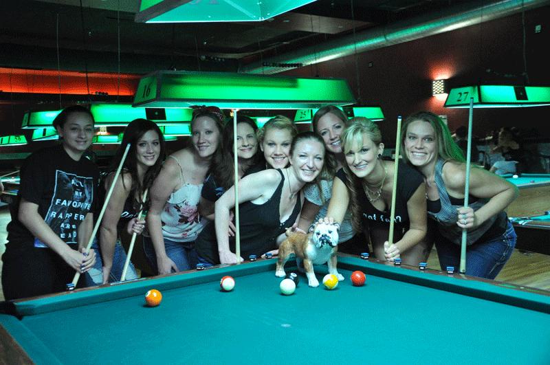 Felt Pool Hall + Local PoolDawgians = Pure Awesomeness!!