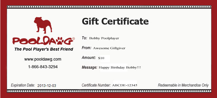 Gift Certificate Now Look Way Less Schlocky