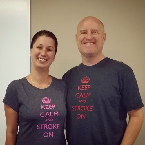 Keep Calm and Stroke On