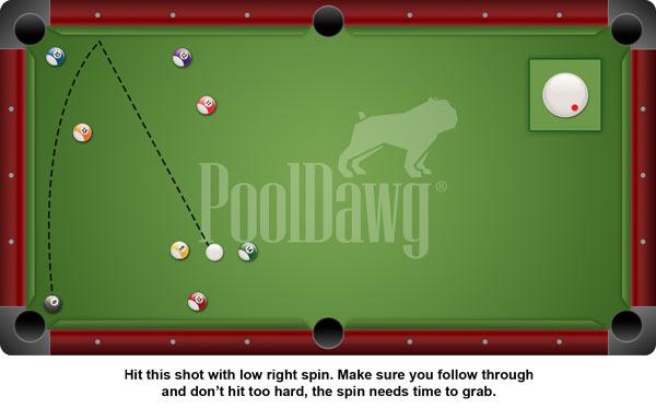 Clear Jump Shot Training Pool Cue Billiards Ball w// Soft