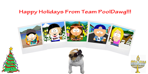 Happy Holidays From PoolDawg!!