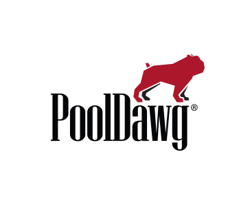 PoolDawg Logo White Baseball Hat